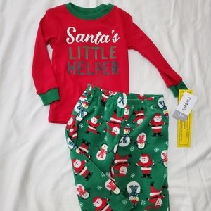 Fleece pjs set